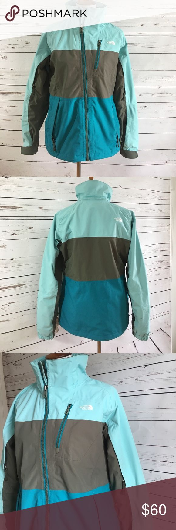 North Face ski jacket As is without hood 🙈. Awesome ski jacket. It has vents, a powder shield, secret pockets, goggle cloth. North Face Jackets & Coats