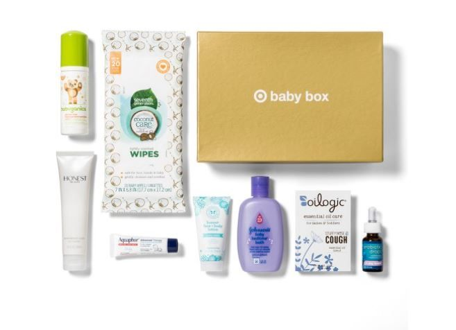 Target Baby Box only $7 (Order now) http://simplesavingsforatlmoms.net/2017/10/target-baby-box-7-order-now.html #Target Deals