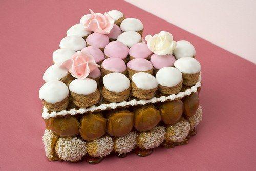 Gâteau tout chou : Un coeur en choux