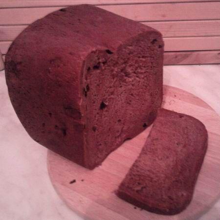 Kakaós kalács - kenyérsütőgépben