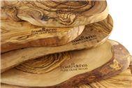 Tapasplank : 100% olijfhout! In diverse maten.