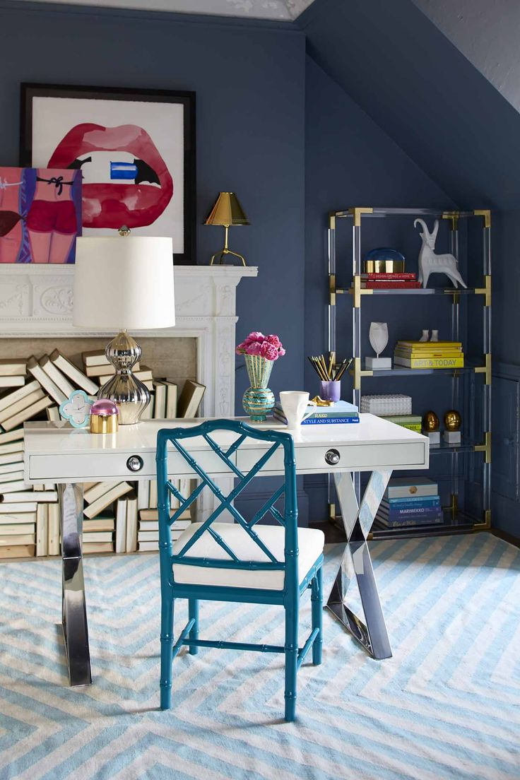 The Channing Desk By Jonathan Adler Puts A Svelte Spin On Classic Campaign  Style With Neoclassical