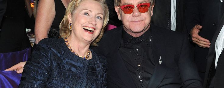 Elton John, Katy Perry to roar for Clinton at New York concert
