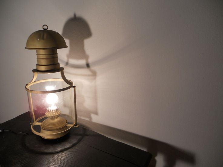 lampa mosiądz