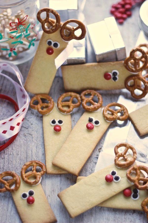 Biscotti Di Natale X Bambini.Biscotti Di Natale Rudolph La Renna Tempodicottura It Menu Per