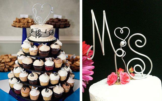 Как сделать украшение для свадебного торта из проволоки