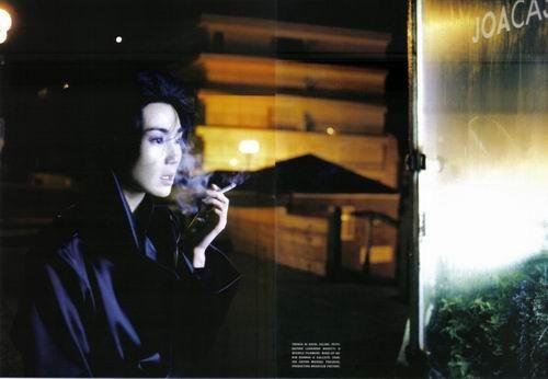 Maggie Cheung, Vogue Italia