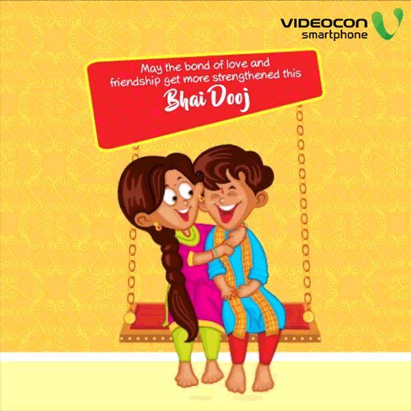 Videocon Smartphones wishes you all a delighted Bhai Dooj! #BhaiDooj
