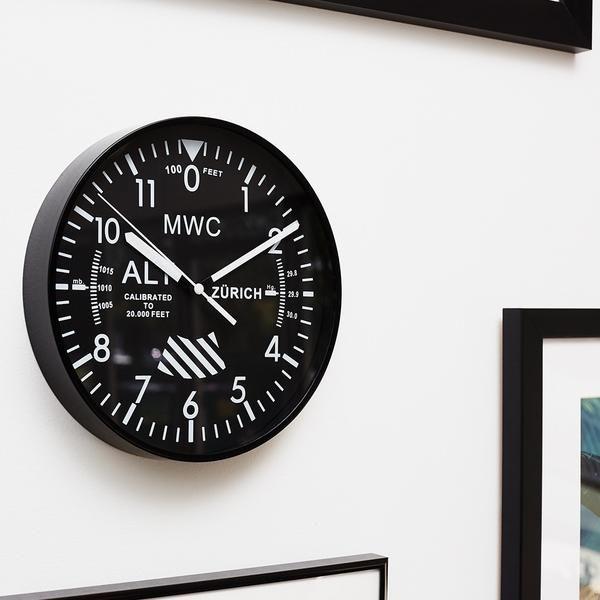 MWC Altimeter Wall Clock | $38