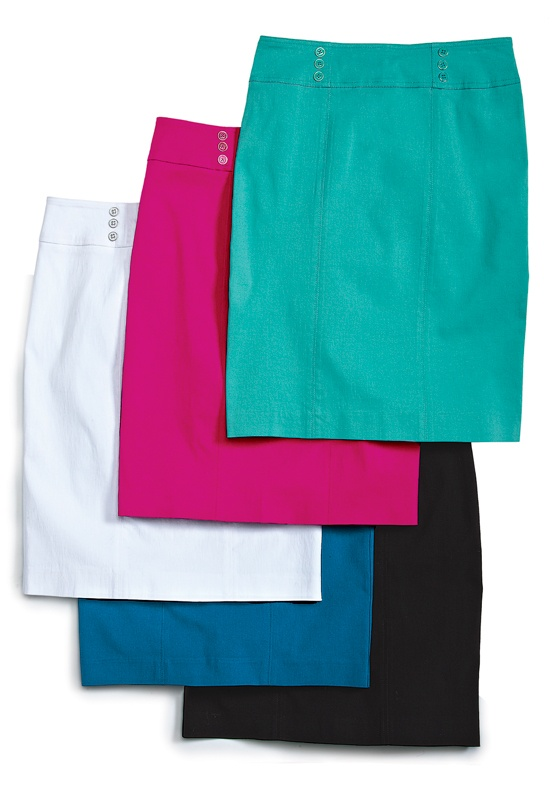 Coloured skirts
