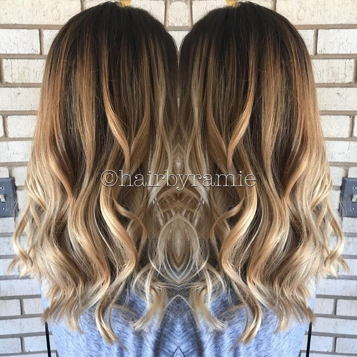 Balayage from today! ❤️ #hair #hairstylist #hairdresser #beautician #makeup …