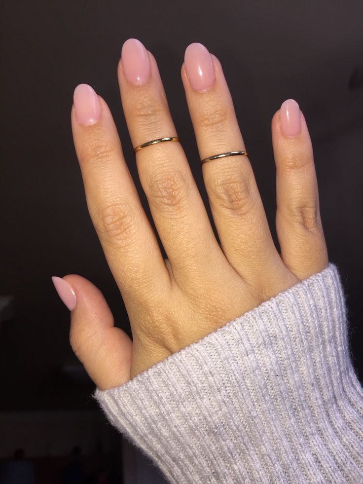 Short nude acrylics. - Best 25+ Natural Almond Nails Ideas On Pinterest Almond Shape