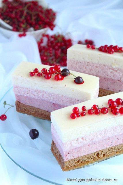 Новогоднее пирожное-десерт «Забвение…»