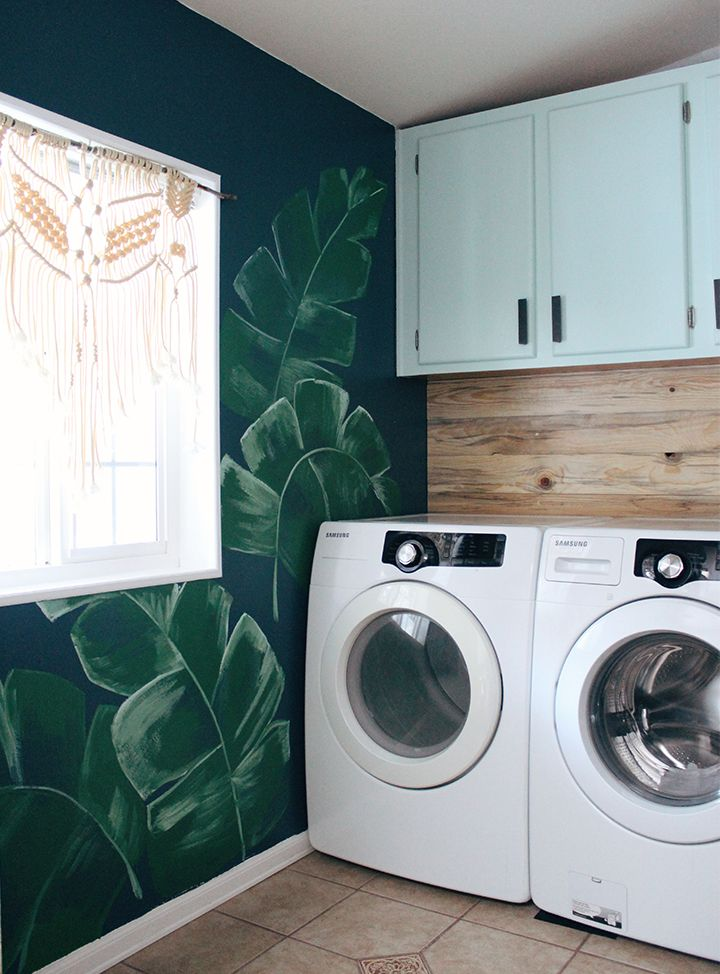 Laundry Room Before And After Laundry Room Makeover Laundry