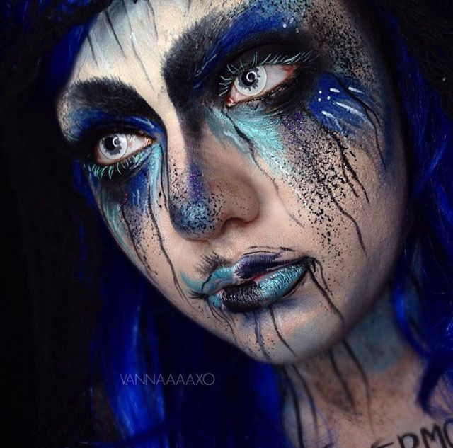 Halloween make up by Vanna #vannaaaxo