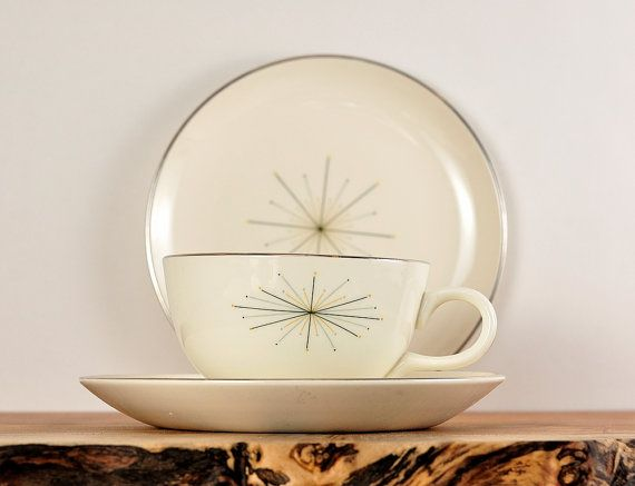Mod Star china pattern by Homer Laughlin