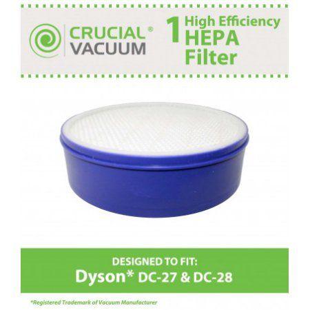 Crucial Vacuum Dyson DC28 (DC-28) Post HEPA Vacuum Cleaner Filter; Fits Dyson DC28 Part# 915916-03
