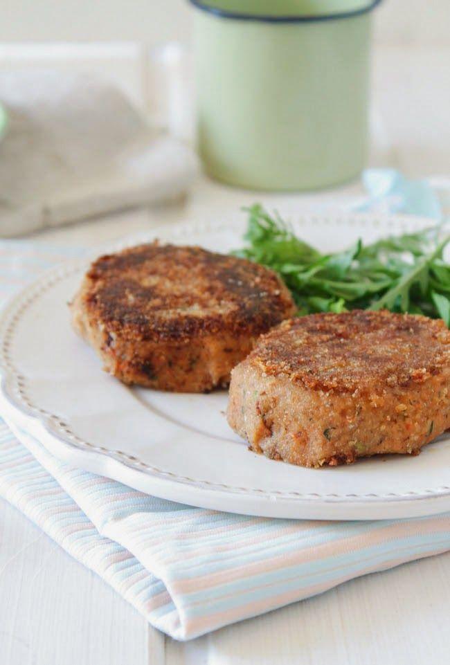 ... !: Hambúrgueres de feijão frade (vegan). Black eyed pea burgers