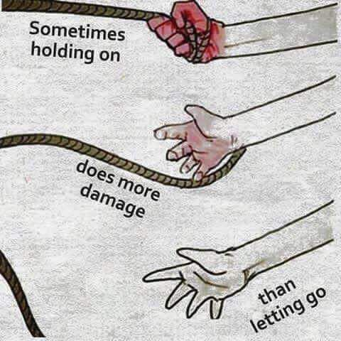 Its time for me to let go...
