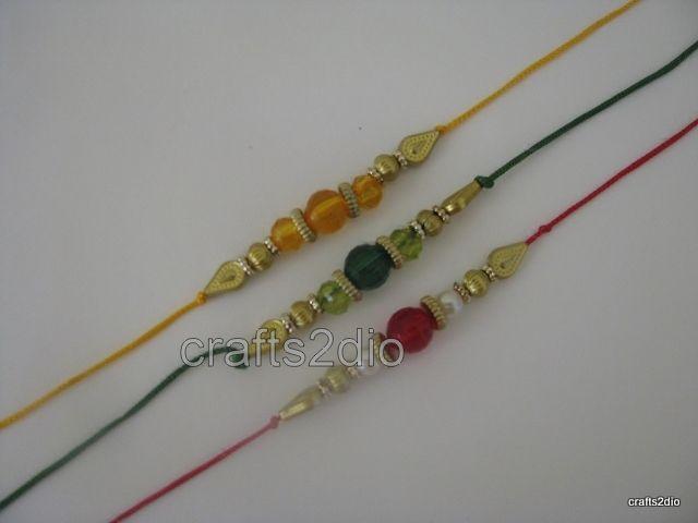 Beads Rakhi