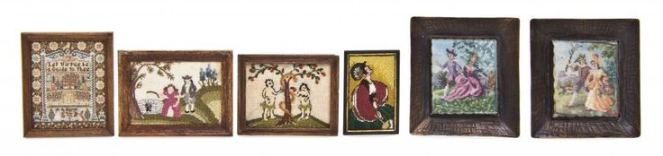 A Collection of Samplers and Needlepoints, comprising examples by Jean Strup (2) after 18th century examples including Adam & Eve and The Fishing Lady on Boston Common, Gaaelle Ferguson after a 1797 Betsy Davis example located in the Museum of Fine Arts, Boston, one by Catherine Calef, two by Judith G. Ohanian initialed JGO, one inscribed to verso Stitched for Adell Venus with Love Sharon Garmize Adam and Eve Number 1 1983, and the other apparently unsigned