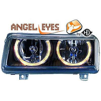#Scheinwerfer set vw passat b4 3a #10.93–03.98 angel eyes #klarglas/schwarz 100,  View more on the LINK: http://www.zeppy.io/product/gb/2/271579878662/