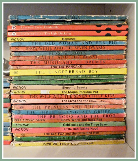 Collection of vintage Ladybird books. No life is complete without having a pile of these somewhere.
