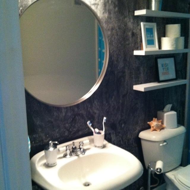 Ikea Grundtal Mirror $39.99 | My House | Pinterest