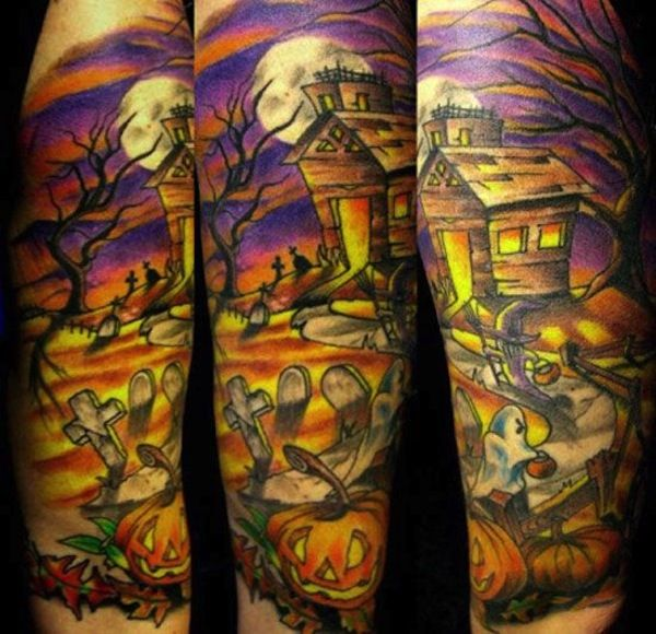 halloween-butt-tattoo-picture