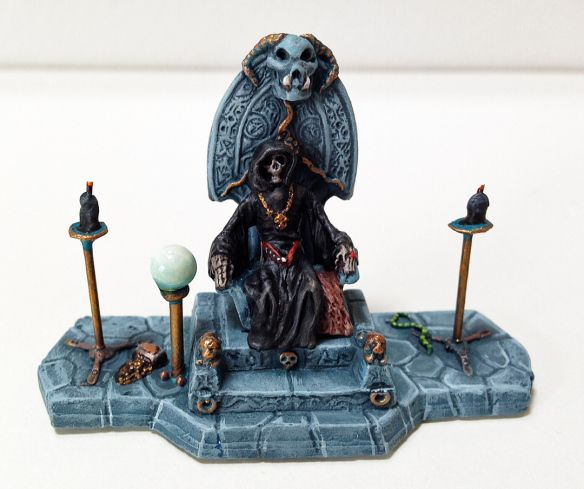 Lich King - Old mini from Grenadier, with a accompanying undead princess. Take a look!