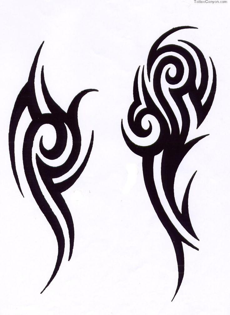Simple animal tattoos