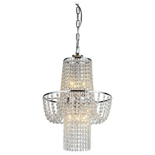 "Warehouse Of Tiffany Ceiling Lights - Silver (15 X 15 X 5"") : Target"