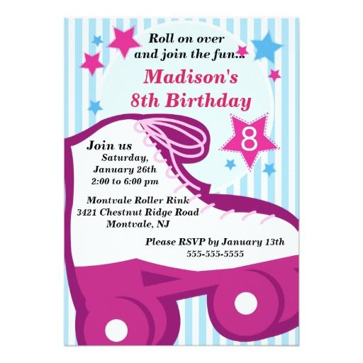 336 best Roller Skating birthday theme images – Party Invitation Sites