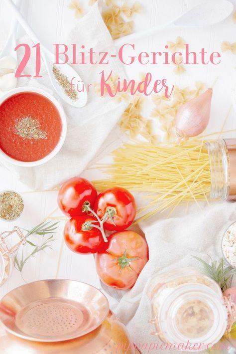 21 Ideen fürs Mittagessen mit Kindern – Andrea