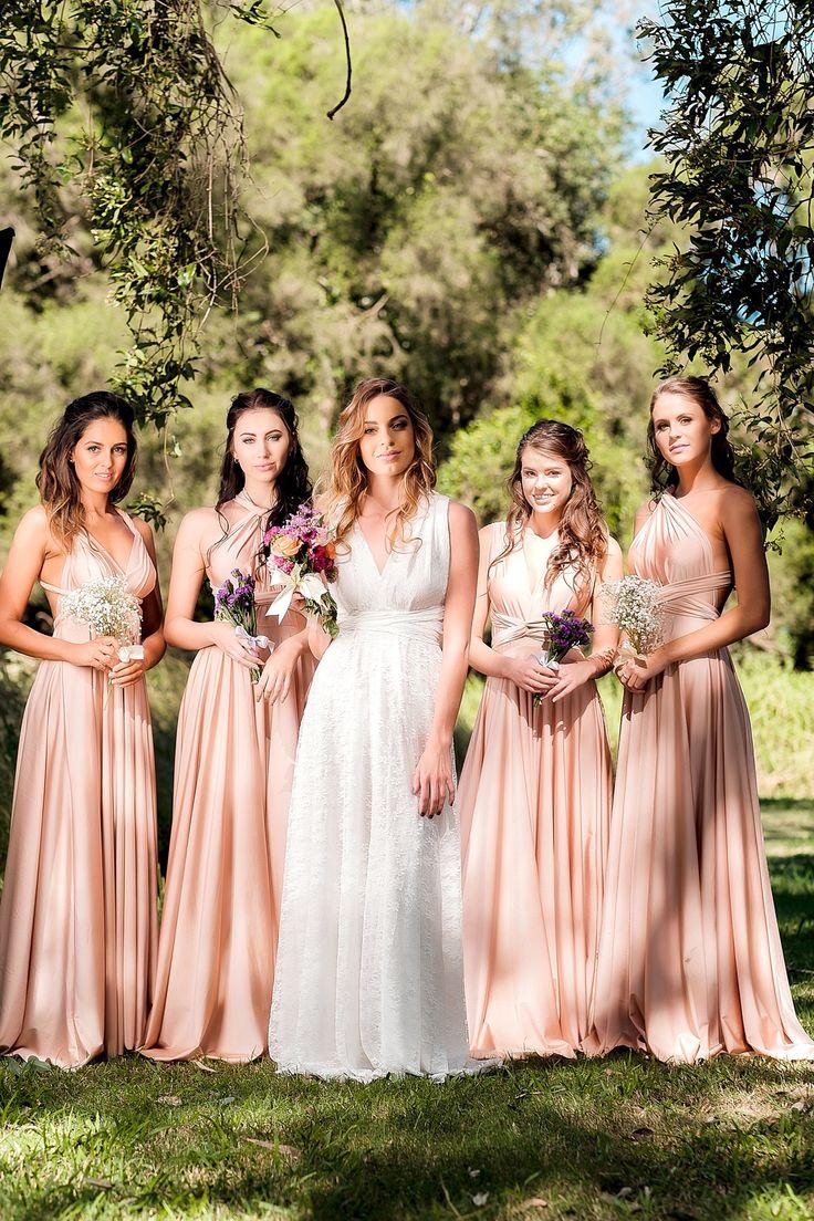 Die besten 25 mehrwegkleid fr brautjungfer ideen auf pinterest our signature multiway bridesmaids dresses in rosey posey can be styled countless ways goddess ombrellifo Images