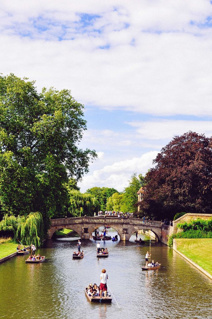 My favorite part of studying at Cambridge: punting in River Cam | Cambridge, UK