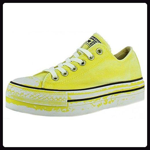 Converse - Converse All Star Ox Platform Limited Edition Damen Sportschuhe Gelb - Gelb, 40 - Sneakers für frauen (*Partner-Link)