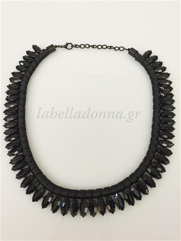 Labelladonna.gr - Statement Necklace Black