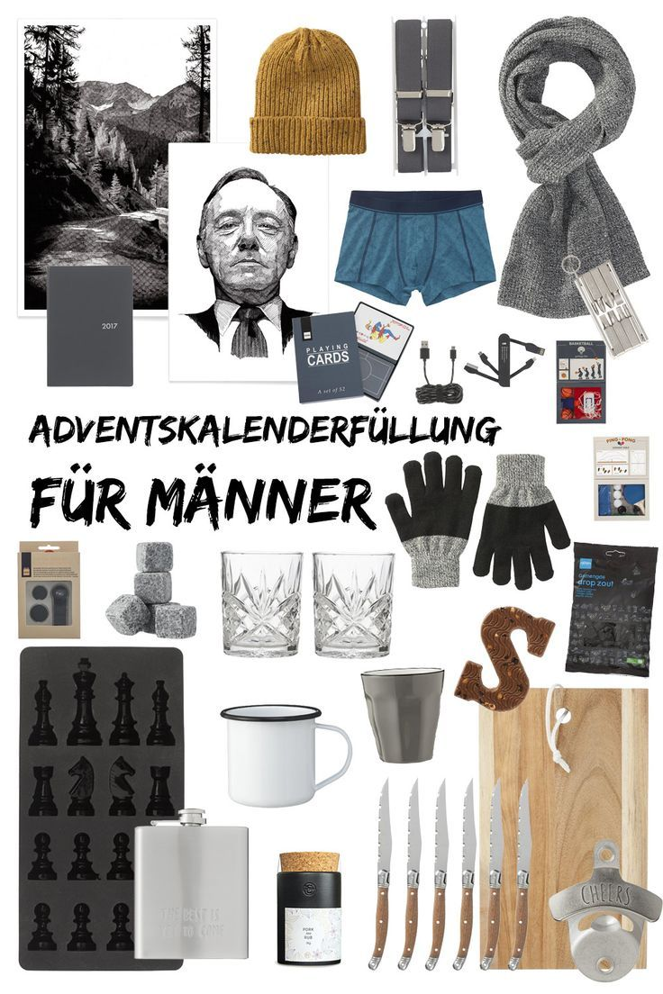 Geschenkideen single manner