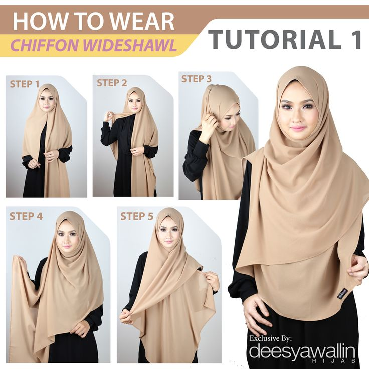 Tutorial Chiffon Wideshawl  Facebook: Closet Heart Official  Instagram: Closet Heart