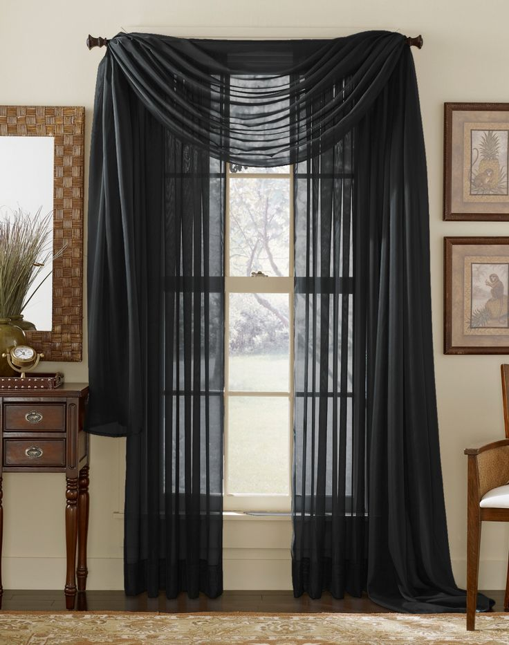 curtain scarf black sheer curtains classic curtains drapes curtains