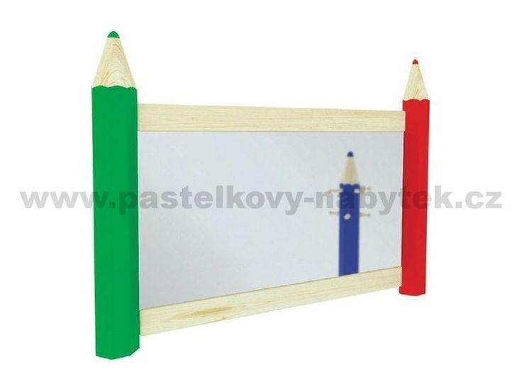 Zrcadlo - horizontální | Dětský dřevěný nábytek - BOB nábytek