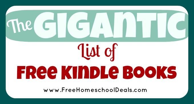 Free Kindle Books: Free Middle School and Highschool Textbooks from CK-12 | Free Homeschool Deals ©