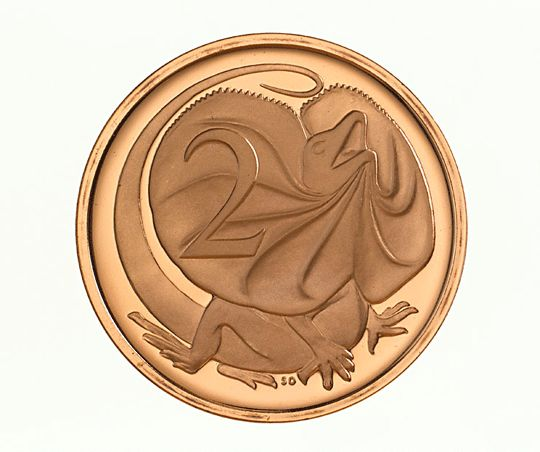 2c Australian coin - no longer in circulation