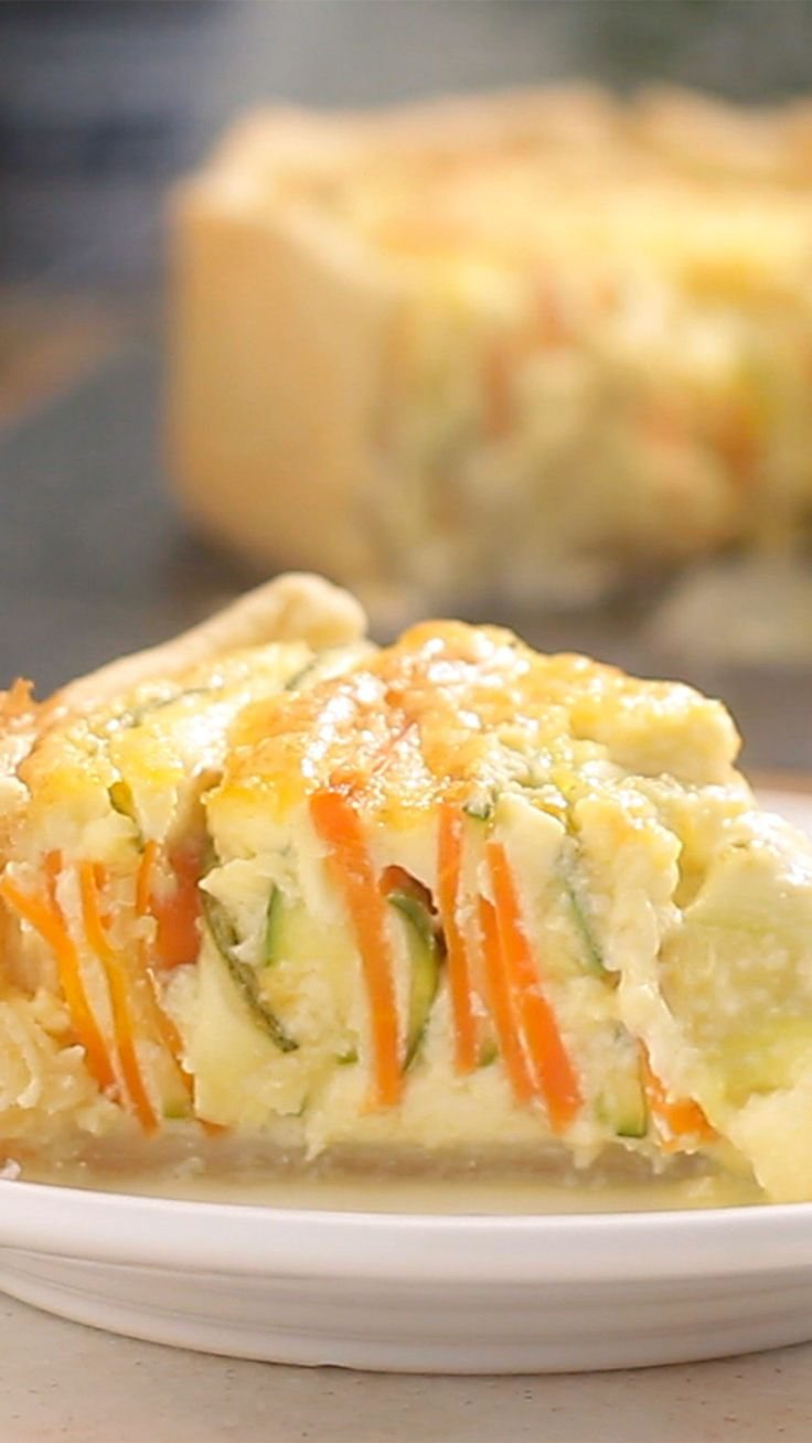 Essa torta espiral de legumes fica linda e com um sabor incrível.