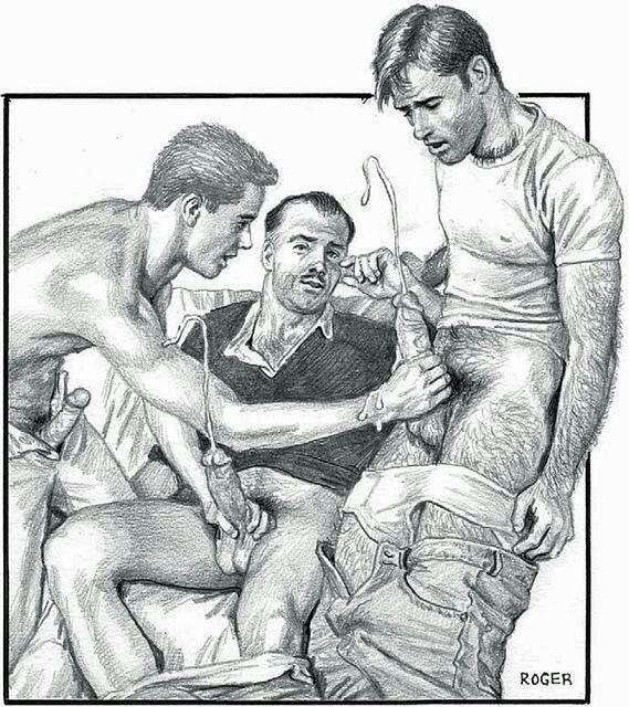 gay schetches