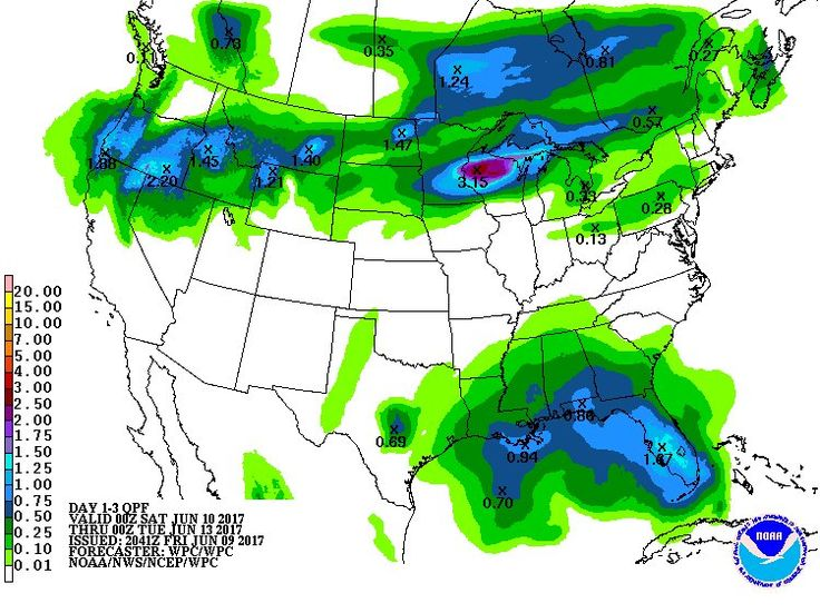 Is it going to rain in your area over the weekend? The forecast rainfall amounts over the next 72 hours.  http://www.wpc.ncep.noaa.govpic.twitter.com/djkHWGOPSH - https://blog.clairepeetz.com/is-it-going-to-rain-in-your-area-over-the-weekend-the-forecast-rainfall-amounts-over-the-next-72-hours-httpwww-wpc-ncep-noaa-gov-pic-twitter-comdjkhwgopsh/