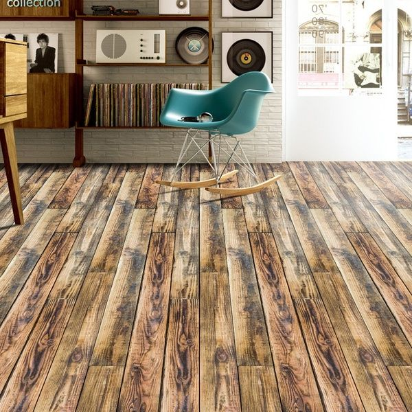 500cm 20cm 3d Simulation Wooden Floor Sticker Diy Self Adhesive Tile Art Pvc Floor Sticker Wall Paper Decal Home Decor Wish Kitchen Wall Stickers Diy Flooring Home Decor