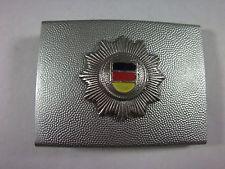 Koppelschloß Volkspolizei- VoPo Frühes Modell Stern mit schwarz- rot- gold, Alu