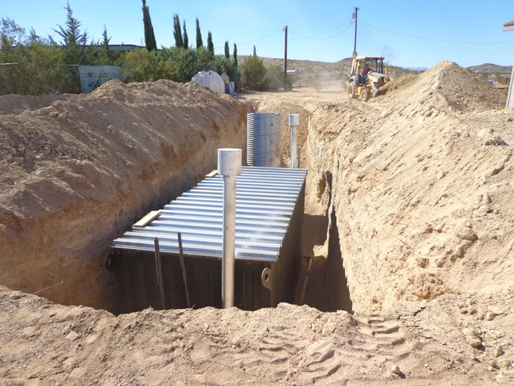 how to build an underground bunker by hand